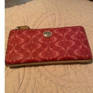 Coach wallet - used